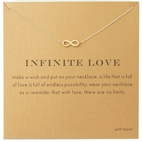 Collier Argent - AMOUR INFINI