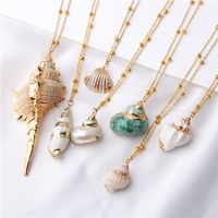 Collier Coquille pour mer plage