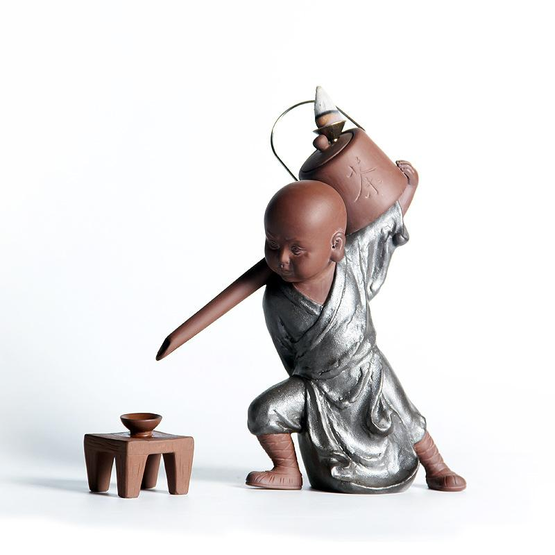 Porte-encens Moine Shaolin