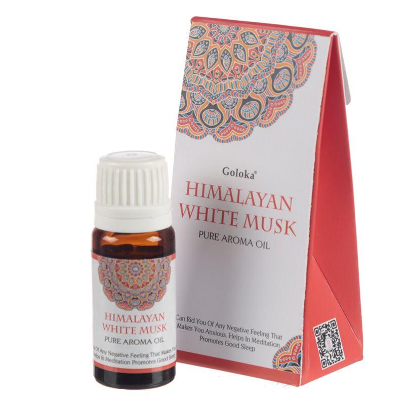 Musc Blanc de l\'Himalaya - Huile aromatique 100% naturelle