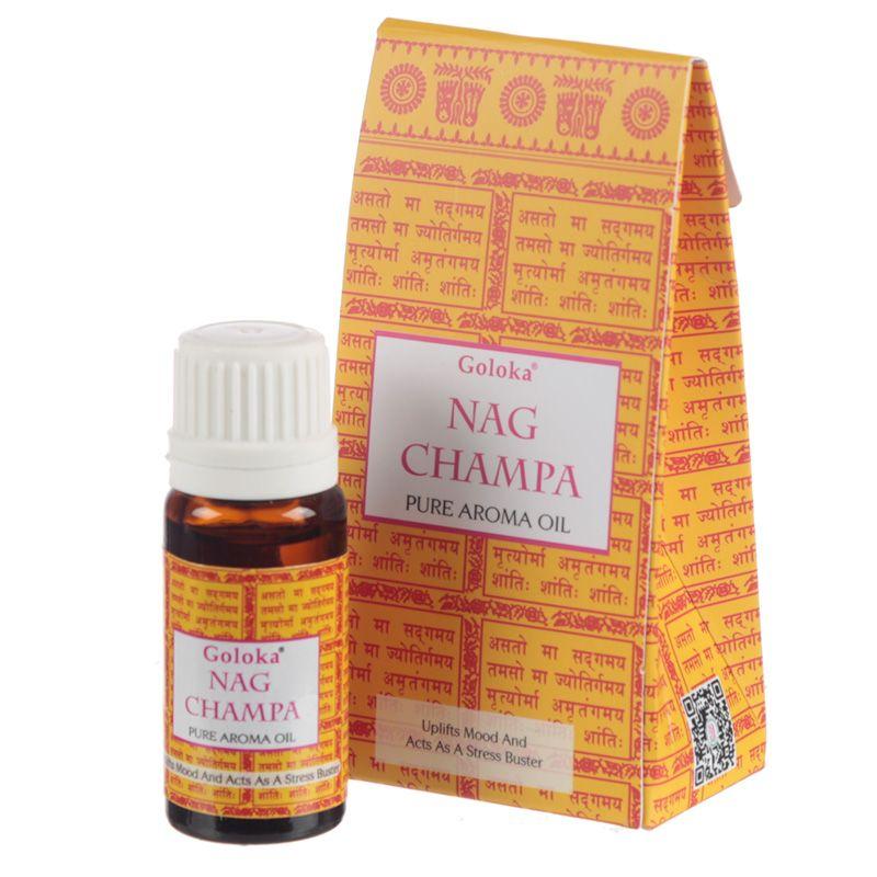 Nag Champa - Huile aromatique 100% naturelle