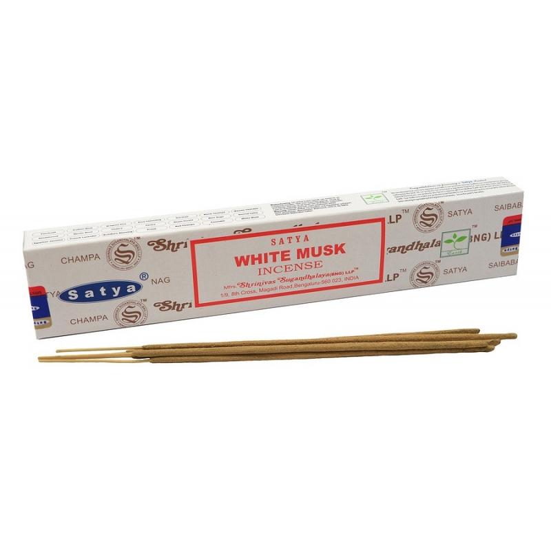 Bâtons d\'encens naturels Musc Blanc