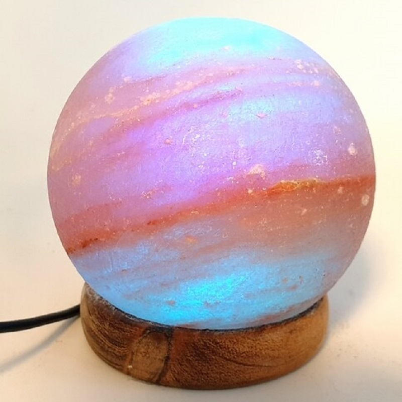 mini lampe pierre de sel sphère USB