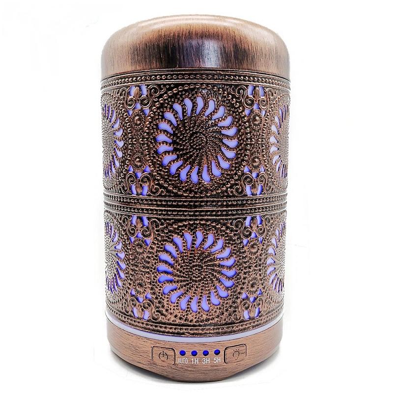 Diffuseur d\'huiles essentielles, Brumisateur Cercles en Spirale