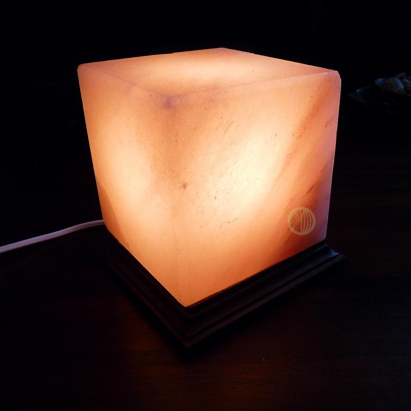 Lampe de Sel Cube