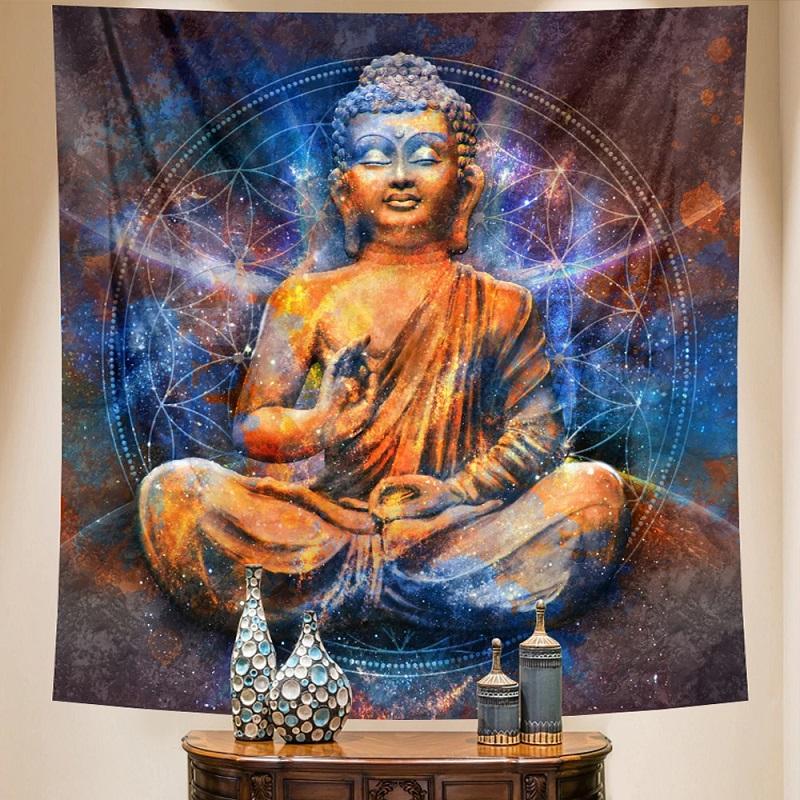 tapisserie murale zen