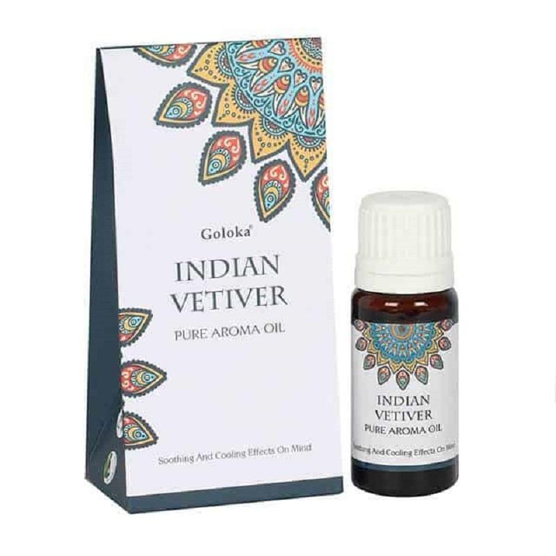 Vétiver Indien - Huile aromatique 100% naturelle