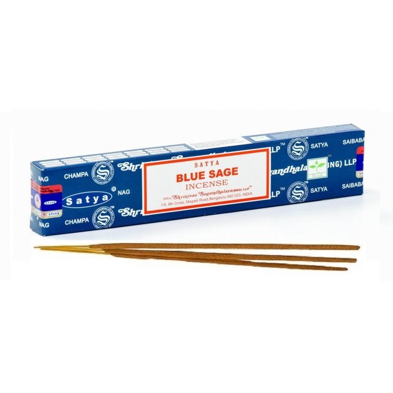 bâtons encens naturels sauge bleue