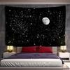 tenture murale lune étoiles