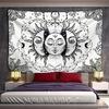 tenture murale lune soleil