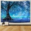 tapisserie murale arbre forêt