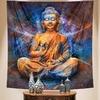 tenture murale bouddha