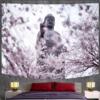Tenture Murale Bouddha et Fleurs de Cerisier