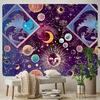 tenture murale soleil planètes