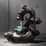 porte-encens dragon chinois