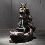 porte-encens refoulement dragon artisanal