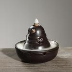 support encens céramique asiatique