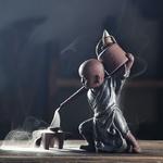 porte-encens artisanal moine