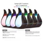 diffuseur huiles essentielles lampe led