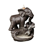 porte encens cascade éléphant