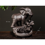 porte encens refoulement éléphant