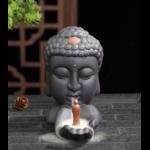 porte encens tête bouddha