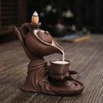 brûleur encens zen main de bouddha