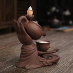 porte encens mains de bouddha
