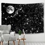 tenture étoiles et pleine lune