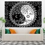 tenture murale yin yang arbre de vie