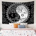 tapisserie murale yin yang
