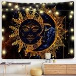 tapisserie murale zen lune soleil