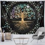 tenture murale zen arbre