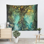 tenture murale nature arbre