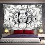 tenture murale zen lune