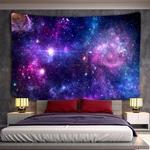 tapisserie murale espace galaxie