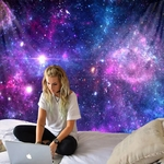 tapisserie murale nébuleuses galaxies