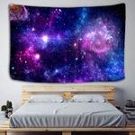 tenture murale galaxies