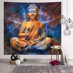 tenture murale bouddha zen