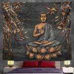 tenture murale méditation