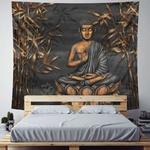 tapisserie murale zen bouddha