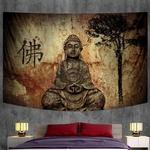 tenture décorative zen