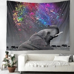 tenture murale zen éléphant
