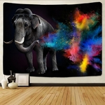 tenture murale décorative éléphant