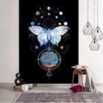 tenture murale zen papillon