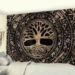 tapisserie décorative zen arbre