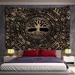 tenture murale zen arbre de vie
