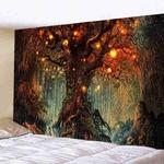 tapisserie murale arbre nature