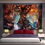 tenture murale arbre zen