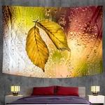 tenture murale feuilles arbre